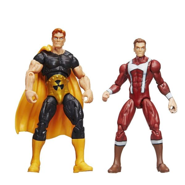 MARVEL LEGENDS SERIES SUPREME POWERS 10cm ACTIONFIGUR 2-PACK