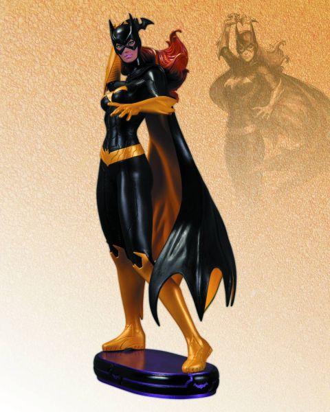 DC COMICS COVER GIRLS BATGIRL STATUE