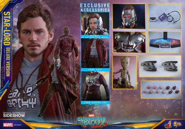 Guardians of the Galaxy Vol. 2 Movie Masterpiece Actionfigur 1/6 Star-Lord Deluxe 31 cCM