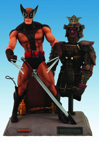 MARVEL SELECT WOLVERINE BROWN COSTUME EDITION ACTIONFIGUR