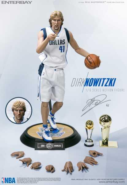 VORBESTELLUNG ! NBA Dirk Nowitzki Real Masterpiece 1:6 Scale Actionfigur