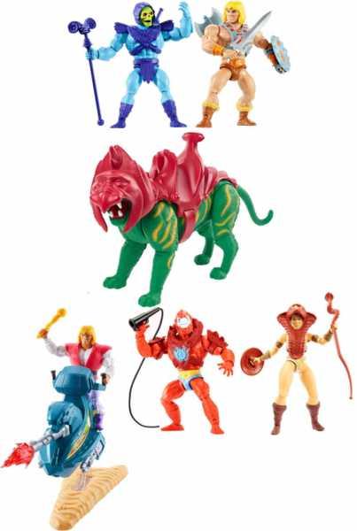 VORBESTELLUNG ! Masters of the Universe Origins 2020 14 cm Actionfiguren Komplett-Set 1