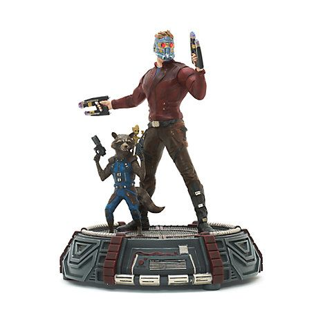 GUARDIANS OF THE GALAXY VOL. 2 STAR-LORD, ROCKET AND GROOT LIGHT-UP STATUE