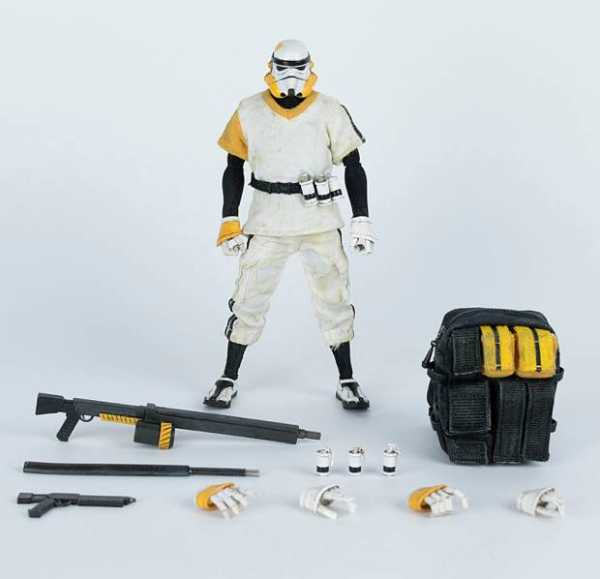 LONELY TROOPER TK SERGEANT WHITE VERSION 1/12 SCALE ACTIONFIGUR