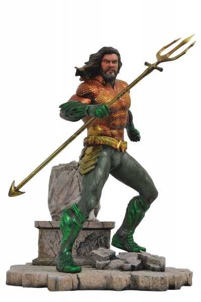 AQUAMAN MOVIE GALLERY AQUAMAN PVC STATUE
