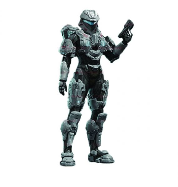 HALO 4 SERIES 3 COMMANDER PALMER ACTIONFIGUR