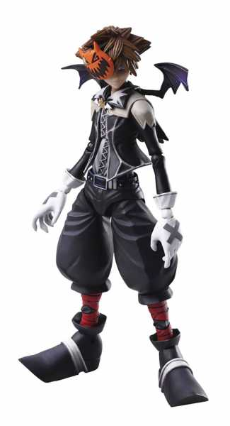 KINGDOM HEARTS II BRING ARTS SORA ACTIONFIGUR HALLOWEEN TOWN VERSION