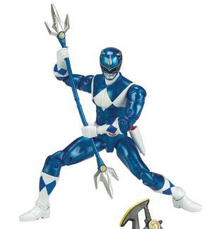 POWER RANGERS LEGACY BLUE RANGER ACTIONFIGUR