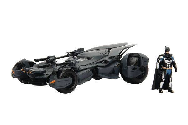 METALS BATMAN JUSTICE LEAGUE BATMOBILE 1/24 VEHICLE