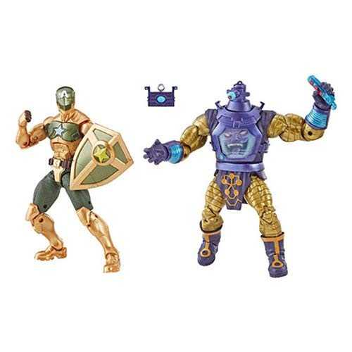 MARVEL LEGENDS ARNIM ZOLA AND SUPREME CAPTAIN AMERICA