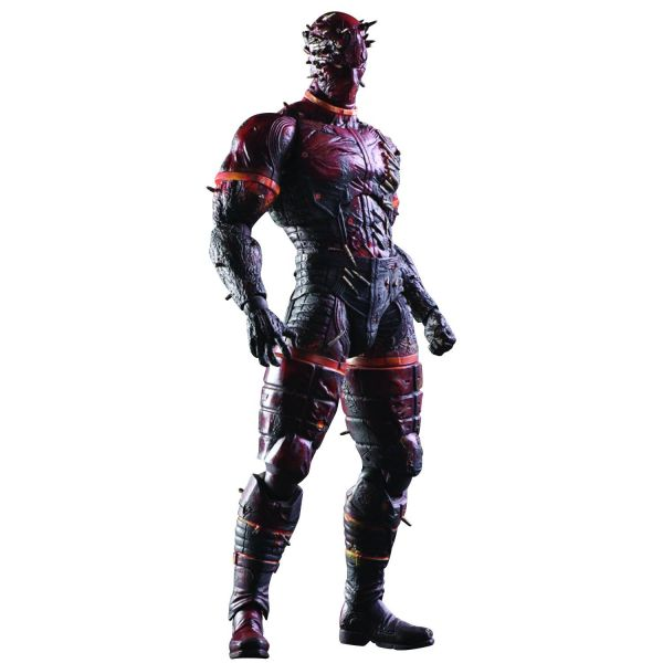 METAL GEAR SOLID V PHANTOM PAIN PLAY ARTS KAI MAN ON FIRE ACTIONFIGUR