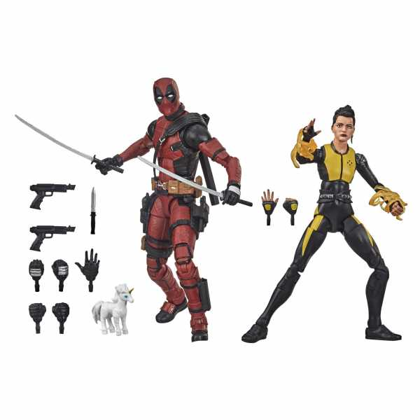 VORBESTELLUNG ! X-Men Marvel Legends Deadpool and Negasonic Teenage Warhead 15cm 2-Pack Actionfigure