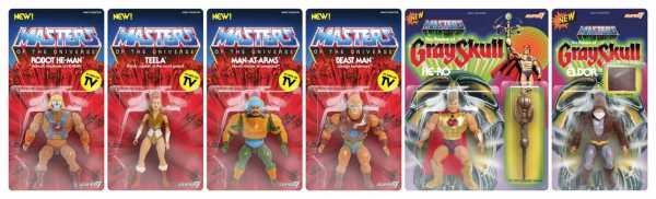 MASTERS OF THE UNIVERSE VINTAGE WAVE 2 KOMPLETT