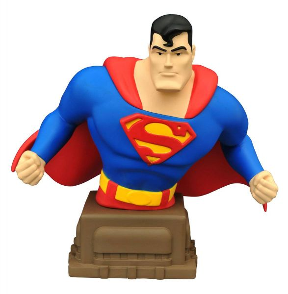 SUPERMAN ANIMATED SERIES SUPERMAN BÜSTE