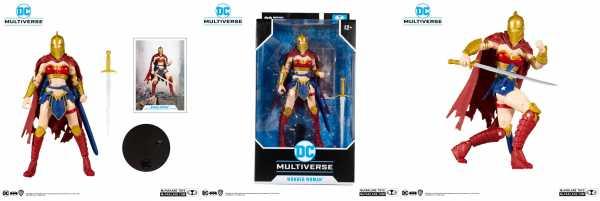 VORBESTELLUNG ! DC Multiverse Actionfigur LKOE Wonder Woman with Helmet of Fate 18 cm Actionfigur