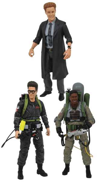 GHOSTBUSTERS 2 SELECT SERIES 7 ACTIONFIGUREN KOMPLETT SET