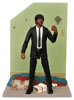 PULP FICTION SELECT SERIES 1 JULES WINNFIELD ACTIONFIGUR