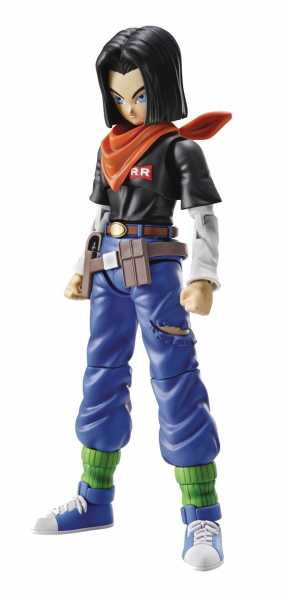 VORBESTELLUNG ! DRAGON BALL ANDROID 17 FIGURE-RISE NEW PKG MODELLBAUSATZ