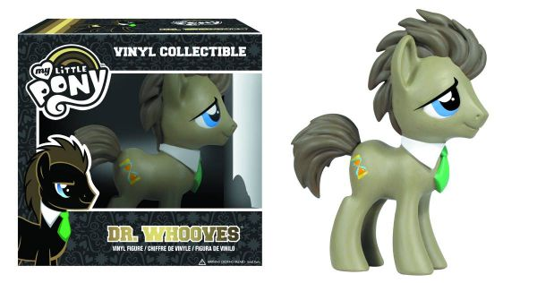 MY LITTLE PONY DR. WHOOVES VINYL FIGUR