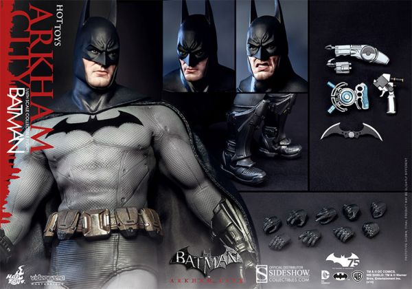 Batman Arkham City Video Game Masterpiece Actionfigur 1/6 Batman 31 cm