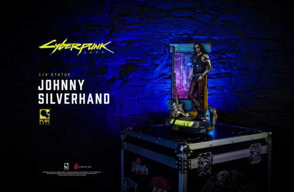 VORBESTELLUNG ! Cyberpunk 2077 1/4 Johnny Silverhand Exclusive 53 cm Statue
