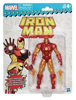 MARVEL SUPER HEROES VINTAGE 15 cm IRON MAN ACTIONFIGUR