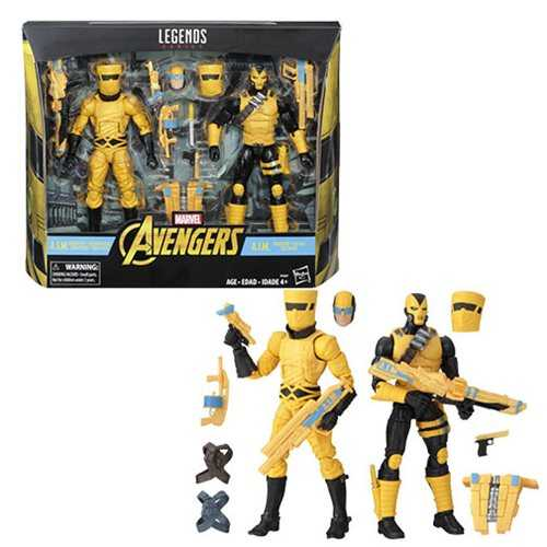 Marvel Legends A.I.M. Scientist and Shock Trooper Actionfiguren 2-Pack - Exclusive