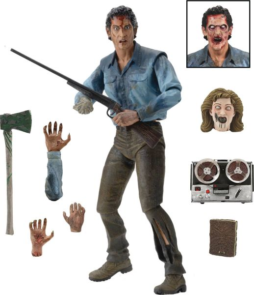 EVIL DEAD 2 ULTIMATE ASH 17,5 cm ACTIONFIGUR
