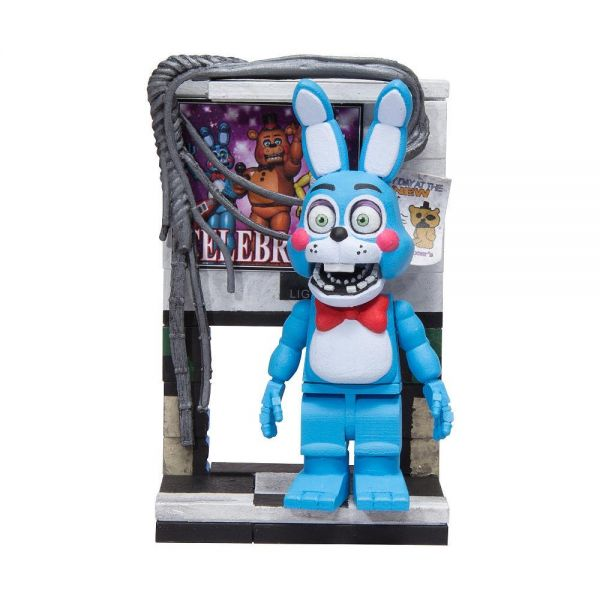 FIVE NIGHTS AT FREDDYS TOY BONNIE WITH LEFT AIR VENT BAUSATZ