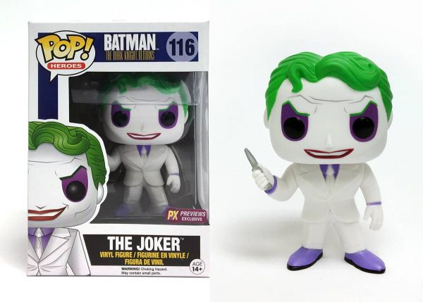 POP DC HEROES DKR JOKER PX VINYL FIGUR