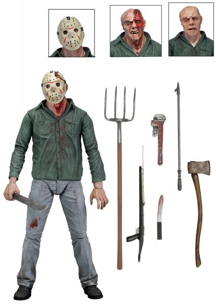 FRIDAY THE 13TH 17,5 cm ULTIMATE PART 3 JASON ACTIONFIGUR