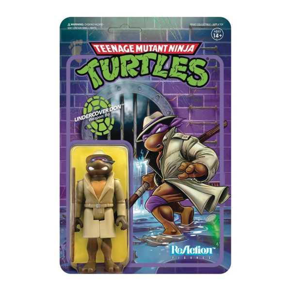 Teenage Mutant Ninja Turtles Undercover Donatello 3 3/4 Inch ReAction Actionfigur