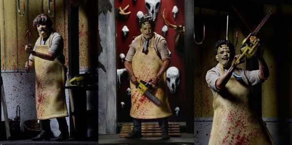 VORBESTELLUNG ! TEXAS CHAINSAW MASSACRE ULTIMATE LEATHERFACE 18 cm ACTIONFIGUR