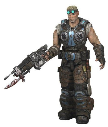 GEARS OF WAR 3 SERIES 1 DAMON BAIRD 10cm ACTIONFIGUR