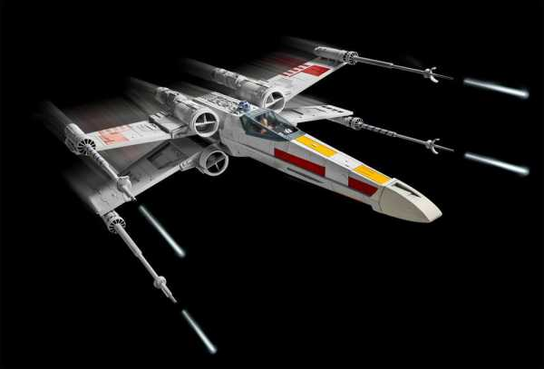 VORBESTELLUNG ! Star Wars 1/29 X-Wing Fighter 44 cm Easy-Click Modellbausatz