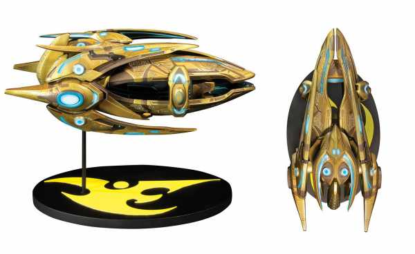 VORBESTELLUNG ! StarCraft Protoss Carrier Ship 18 cm Replik