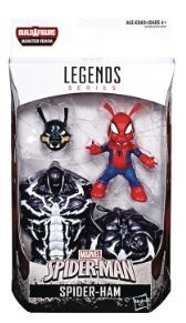 VENOM LEGENDS 15 cm SPIDER-HAM ACTIONFIGUR ohne BAF-Teil