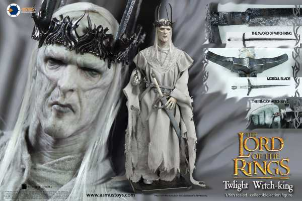 VORBESTELLUNG ! LORD OF THE RINGS TWILIGHT WITCH-KING 1/6 ACTIONFIGUR