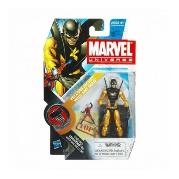 MARVEL UNIVERSE YELLOW JACKET WITH ANT MAN 10cm ACTIONFIGUR