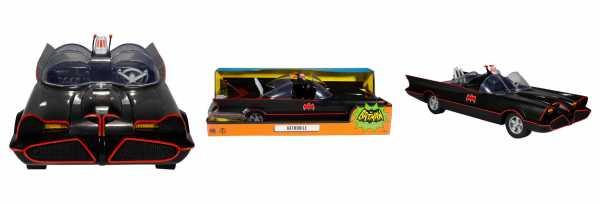 VORBESTELLUNG ! DC Retro Fahrzeug Batman 66 Batmobile