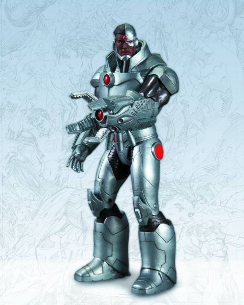 DC COMICS NEW 52 CYBORG ACTIONFIGUR