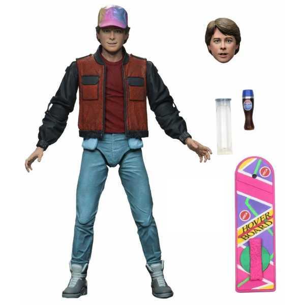 VORBESTELLUNG ! Zurück in die Zukunft II Ultimate Marty McFly 18 cm Actionfigur