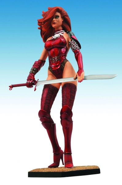 FEMME FATALES DAWN EXECUTIONER PVC STATUE