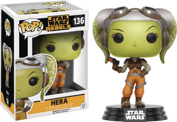 POP STAR WARS REBELS HERA VINYL FIGUR