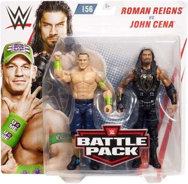 WWE CORE JOHN CENA & ROMAN REIGNS ACTIONFIGUREN 2-PACK