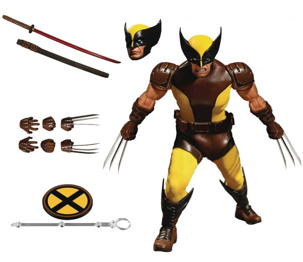 ONE-12 COLLECTIVE MARVEL WOLVERINE ACTIONFIGUR