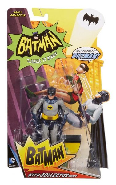 DC 1966 BATMAN TV SERIES BATMAN 15cm ACTIONFIGUR