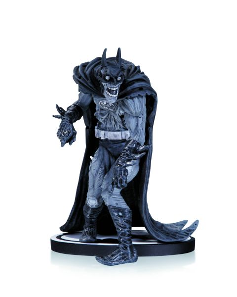 BATMAN BLACK AND WHITE STATUE ZOMBIE BATMAN BY ADAMS