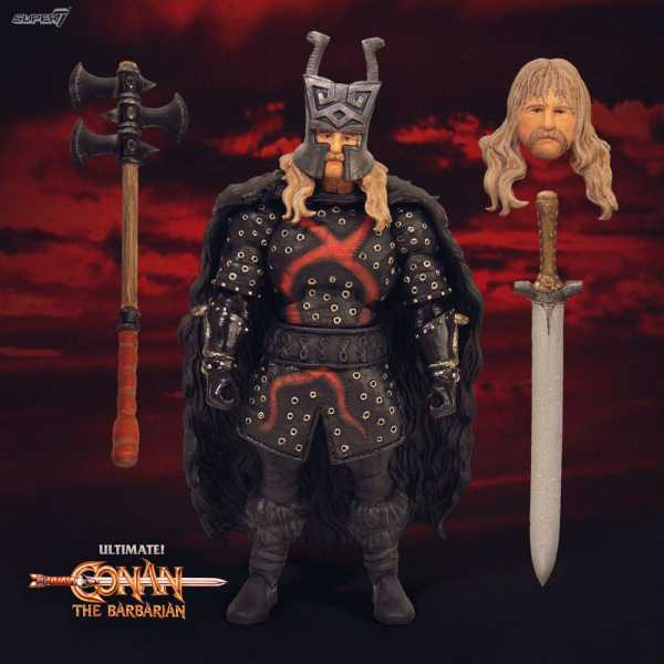 VORBESTELLUNG ! CONAN THE BARBARIAN ULTIMATES WAVE 1 REXOR ACTIONFIGUR