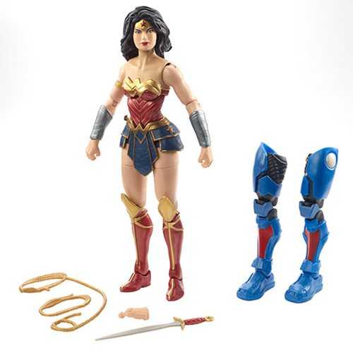 DC MULTIVERSE DC REBIRTH WONDER WOMAN ACTIONFIGUR